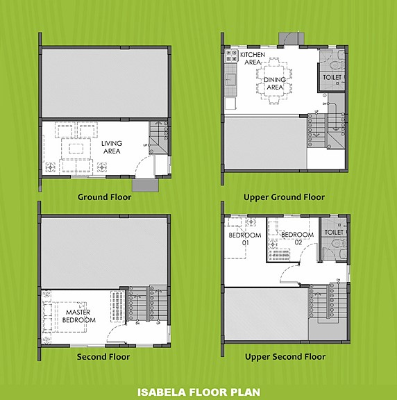 Isabela Floor Plan House and Lot in Ormoc