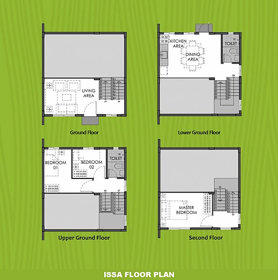 Issa Floor Plan House and Lot in Ormoc