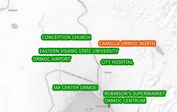 Ormoc Property Vicinity Map
