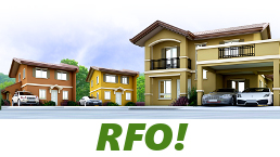 RFO Units for Sale in Camella Ormoc.